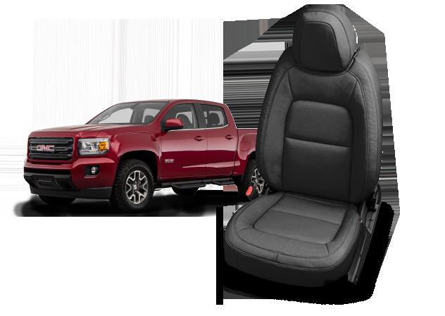 GMC Canyon leather seats