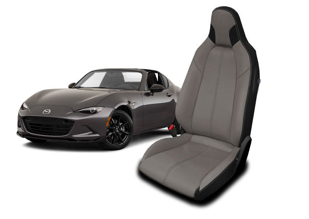 Mazda Miata leather seats
