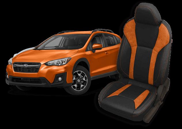 subaru crosstrek leather seats