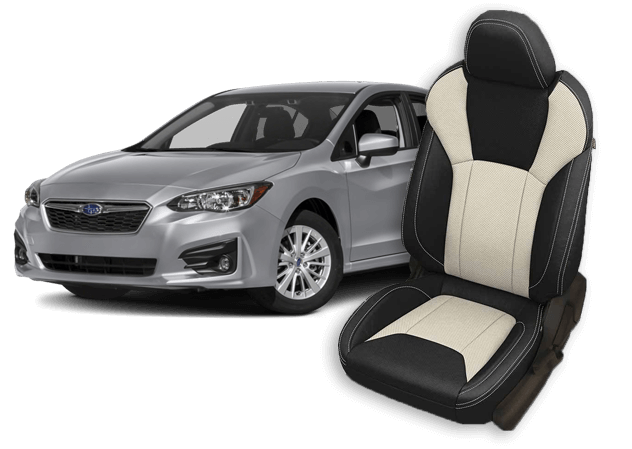 subaru impreza leather seats