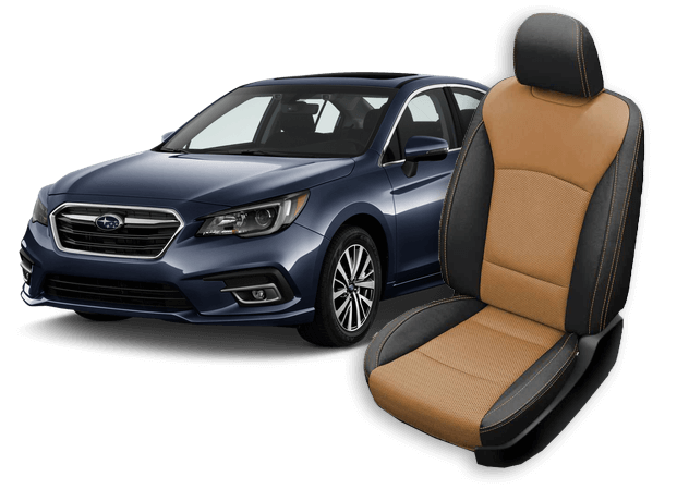 subaru legacy leather seats
