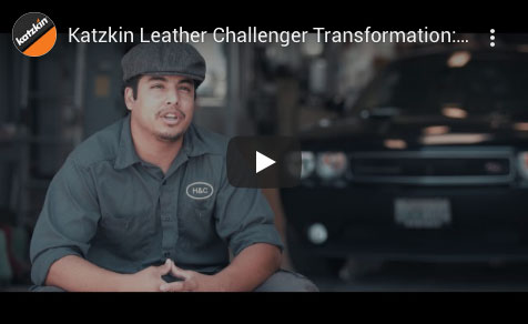 Katzkin Leather Challenger Transformation Video