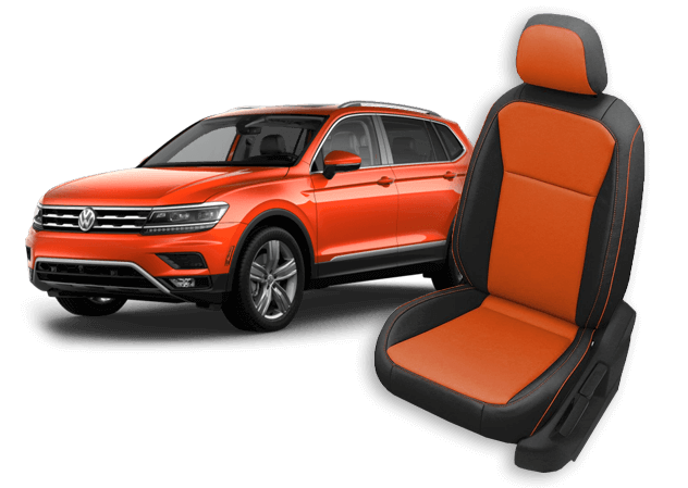 vw tiguan leather seats