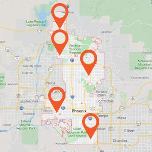 Phoenix Auto Upholstery Locations