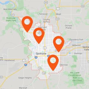 Katzkin Auto Upholstery Spokane Map