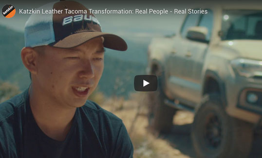 Toyota Tacoma Leather Seat Video