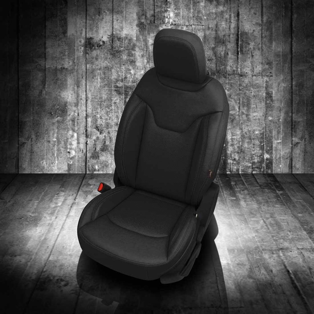 Jeep Compass Black Leather Seats
