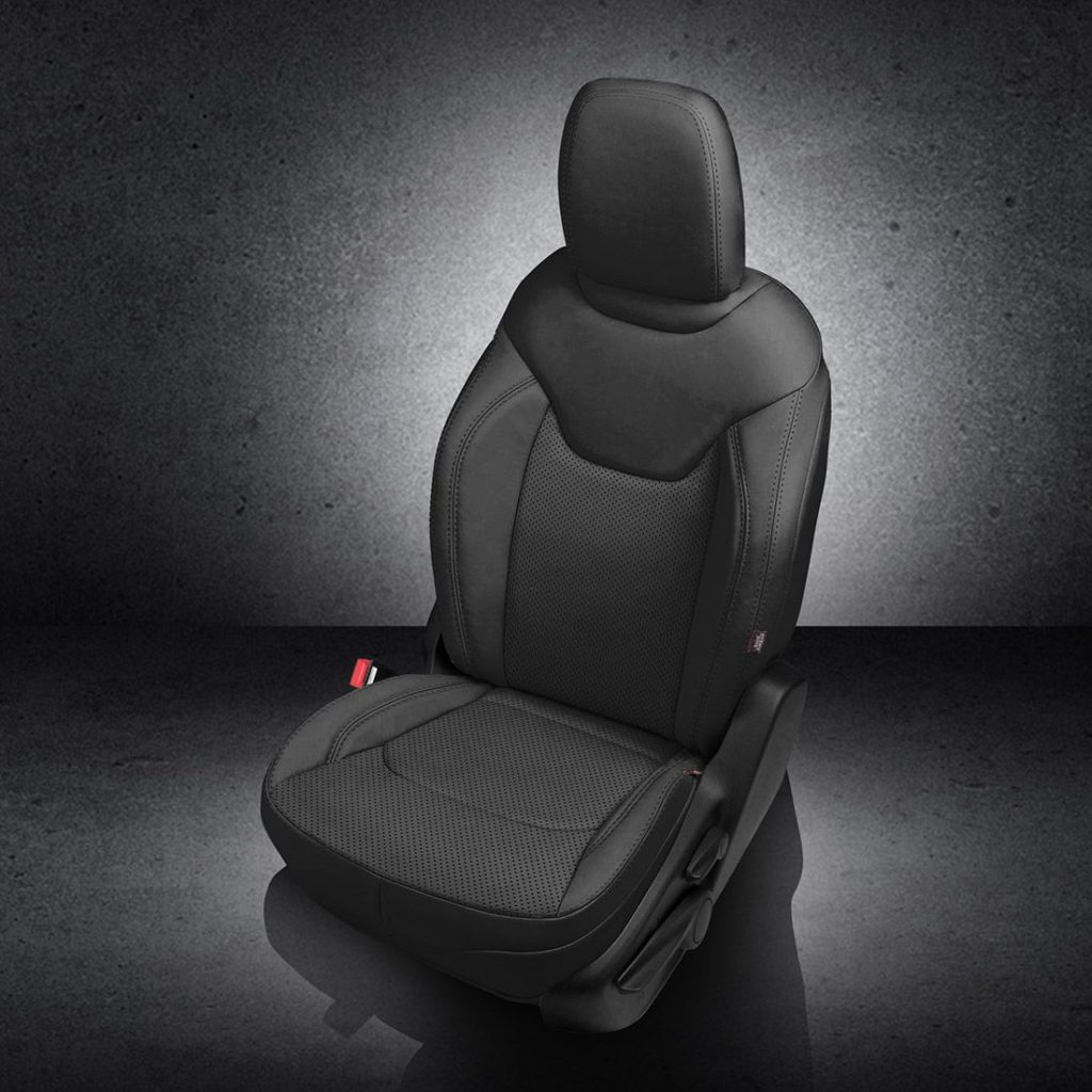 Jeep Renegade Black Leather Seats