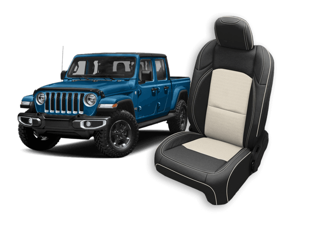 Jeep Gladiator leather seats