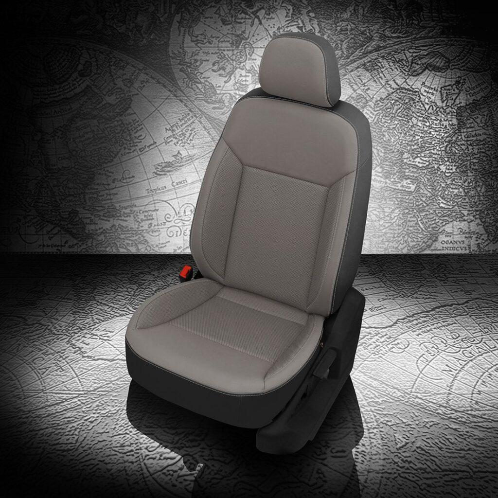 VW Atlas Gray Leather Seats