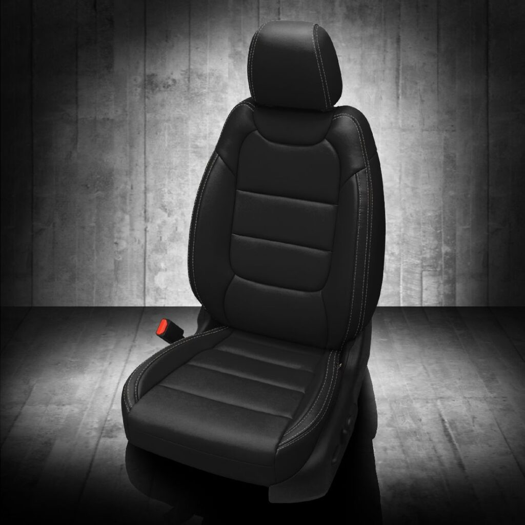 Chevy Trailblazer Black Leather Seats