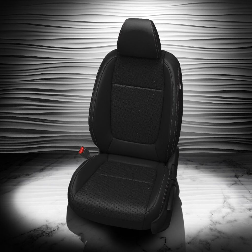 Kia Seltos Black Leather Seats