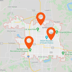 Auto Upholstery Springdale AR Locations