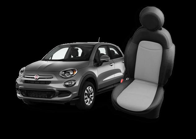 Fiat 500X Leather Seats