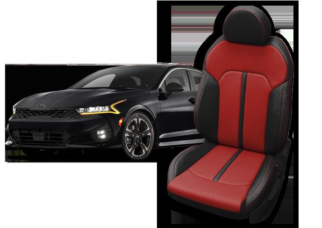 Kia K5 Leather Seats