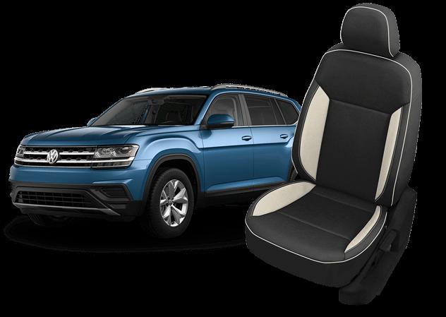 VW Atlas leather seats