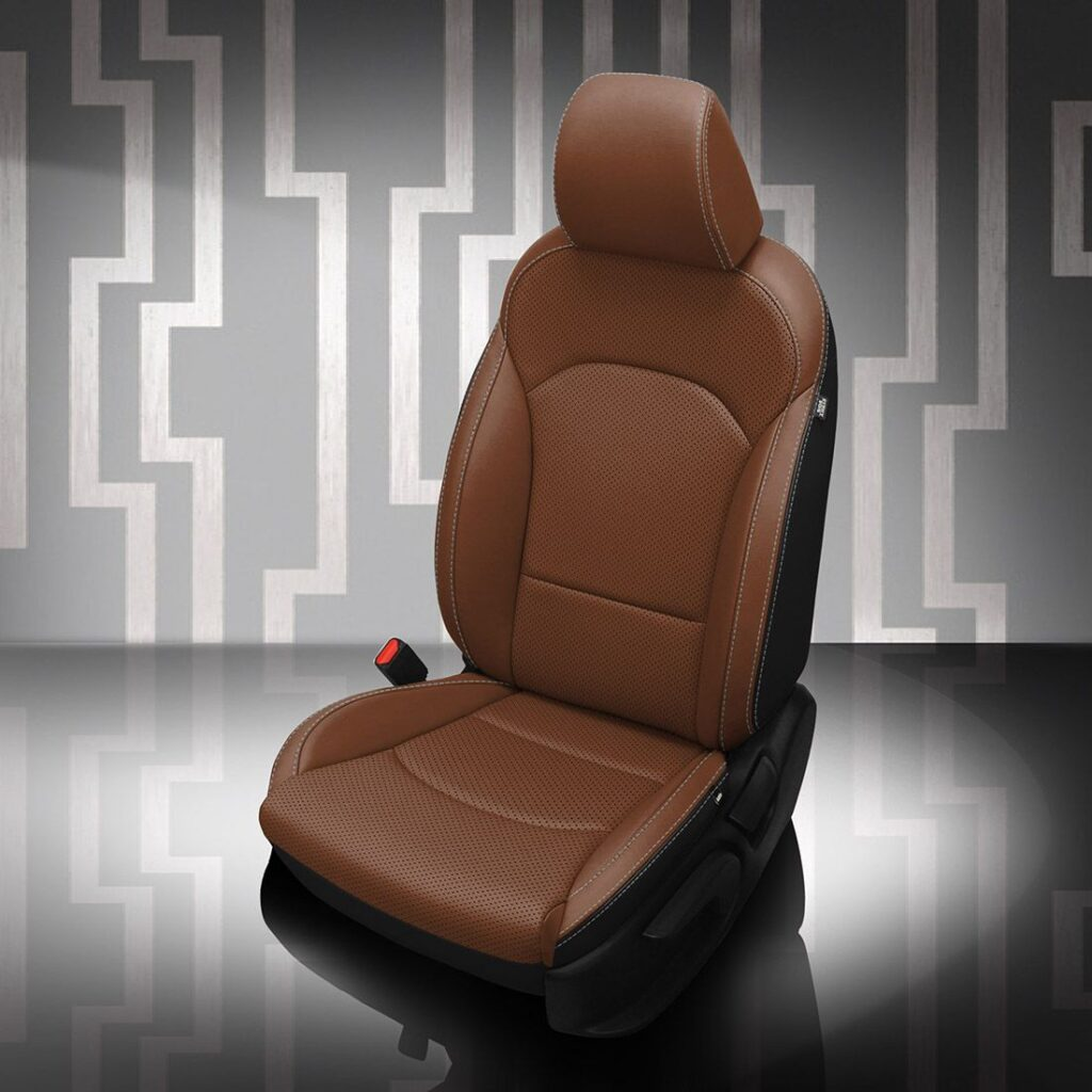 Tan Kia Forte Leather Seats