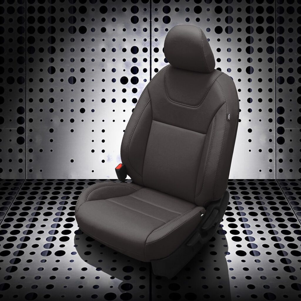 Black Nissan Kicks Leather Seats