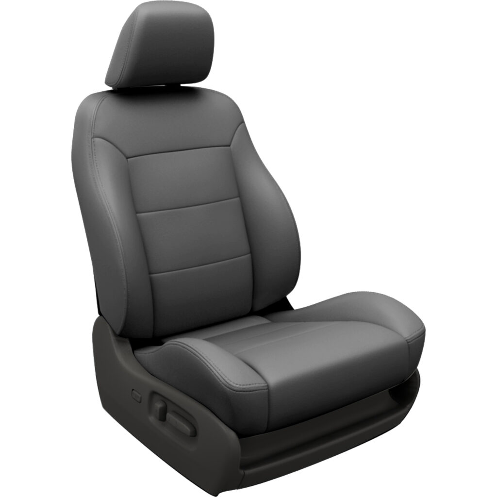 Dark Gray Toyota Sequoia Leather Seats