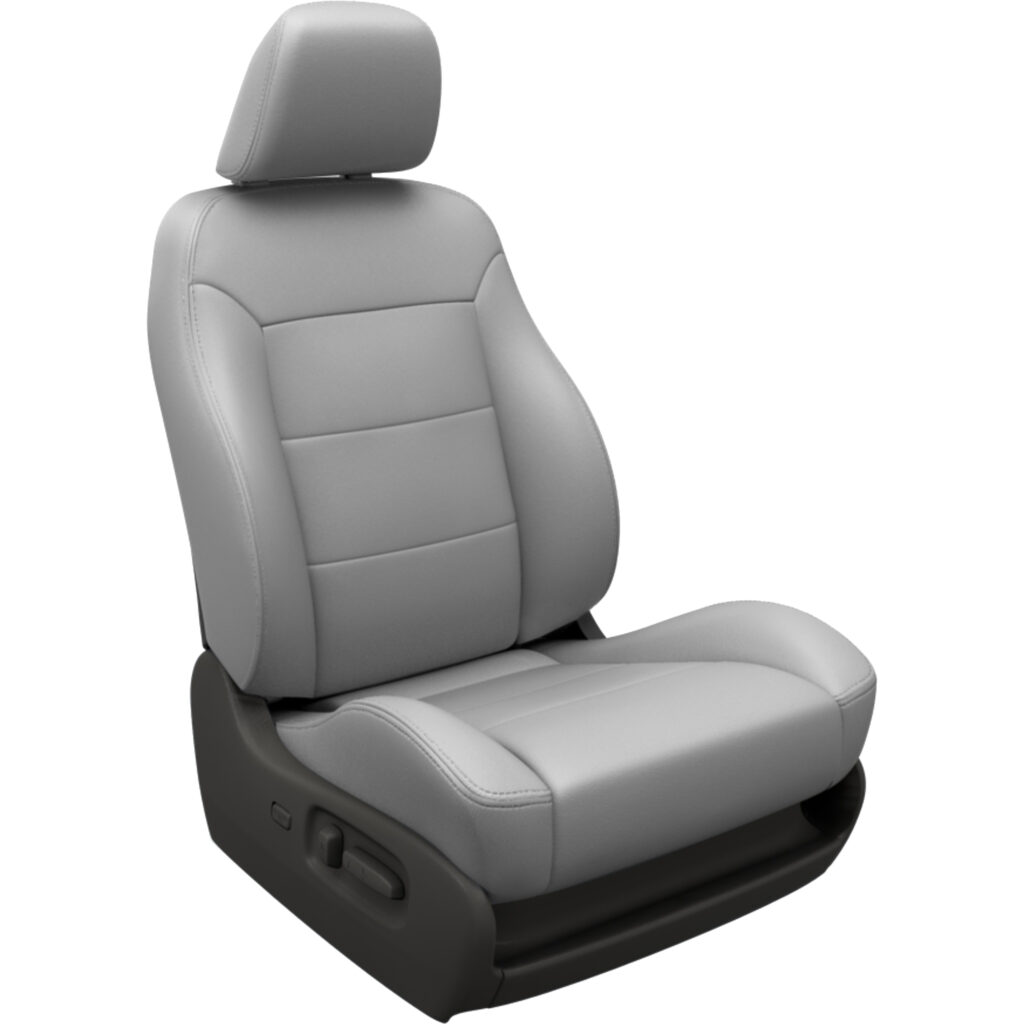 Light Gray Toyota Sequoia Leather Seats
