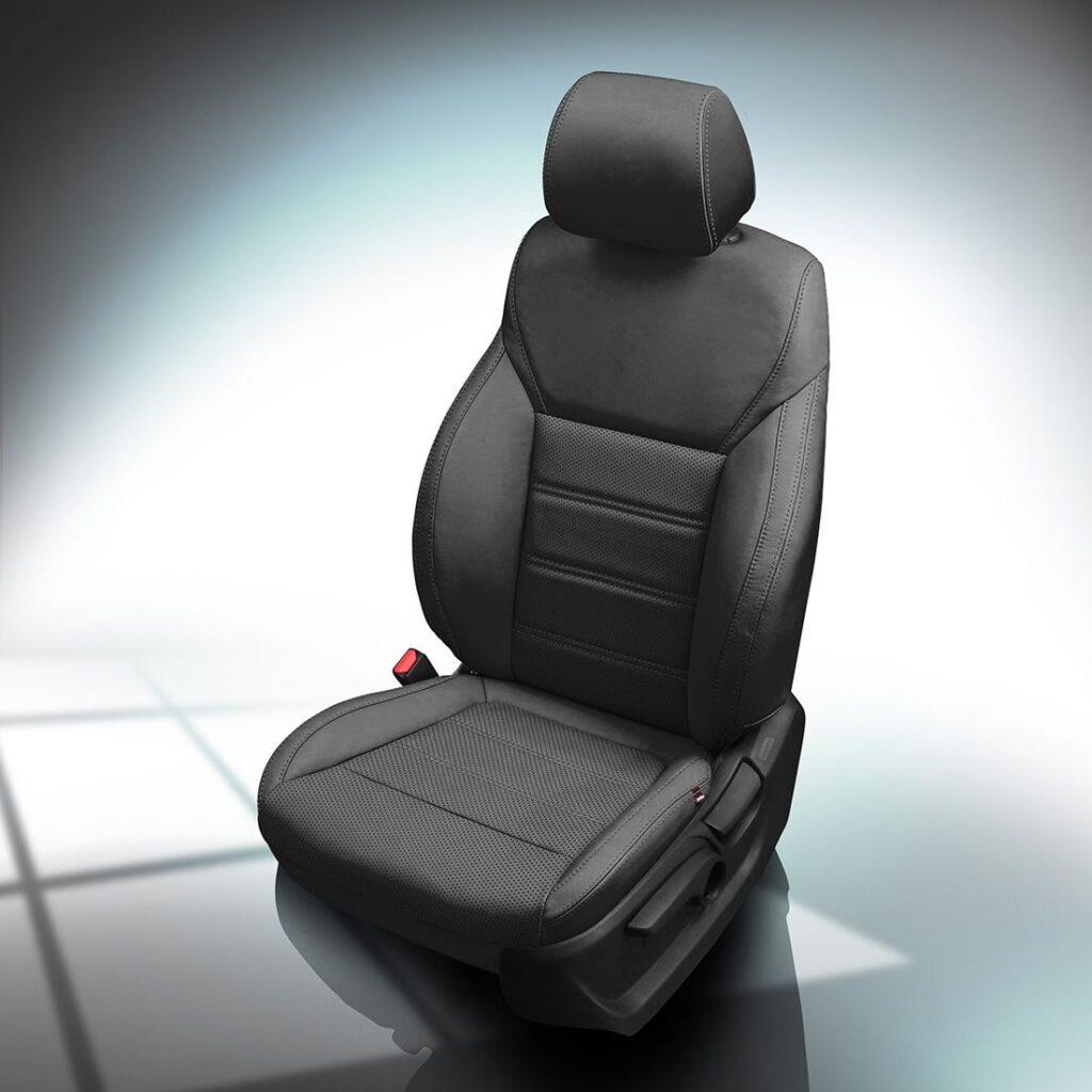 Black Kia Sorento Leather Seats