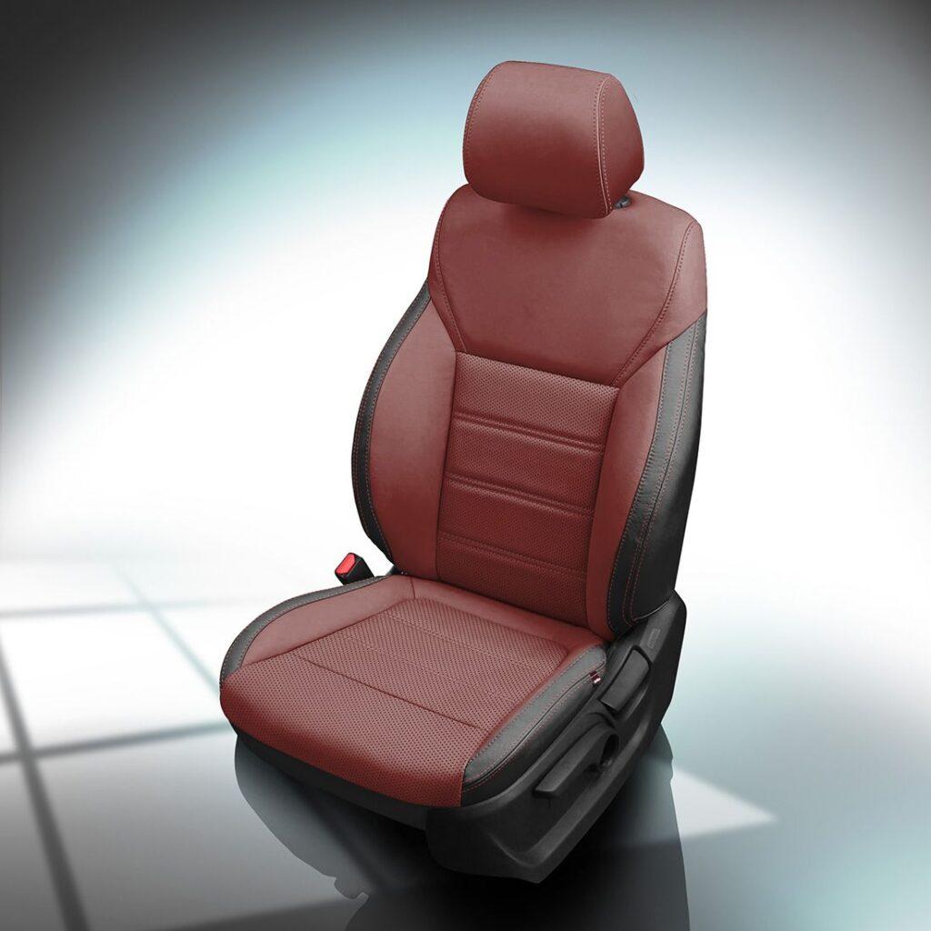 Red and Black Kia Sorento Leather Seats