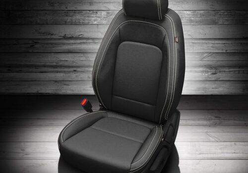 Black Hyundai Venue Leather Seats