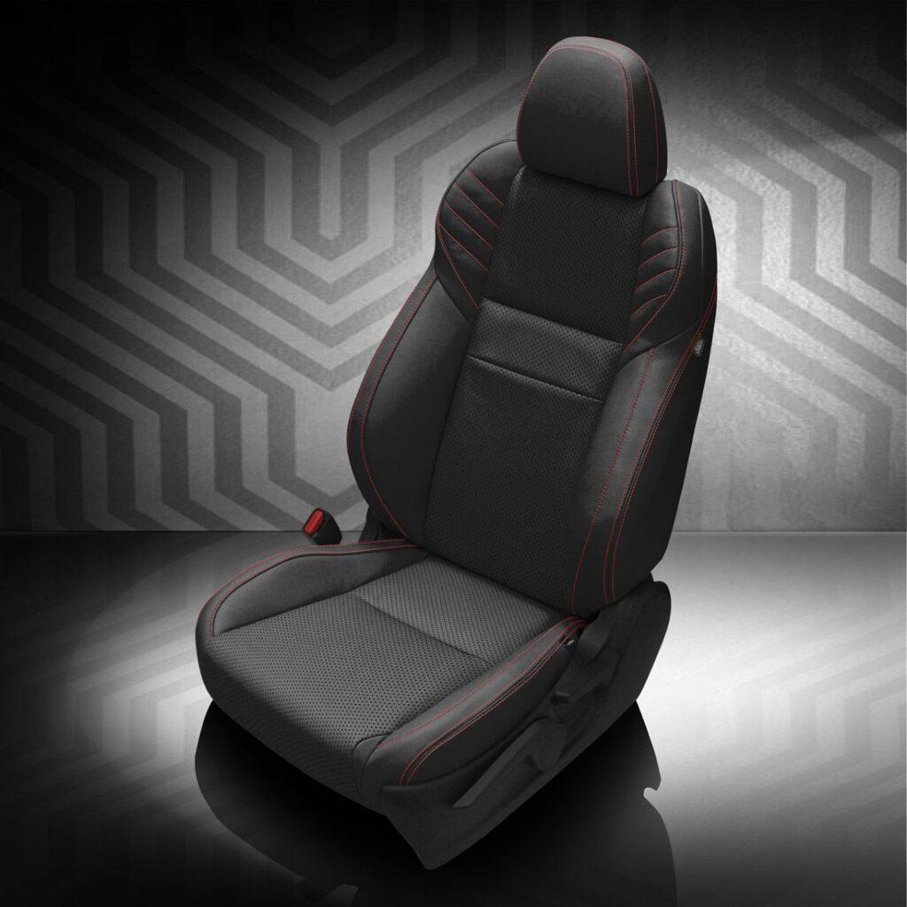 Black Subaru WRX Leather Seats