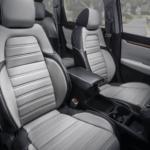 Gray Honda Leather Seats