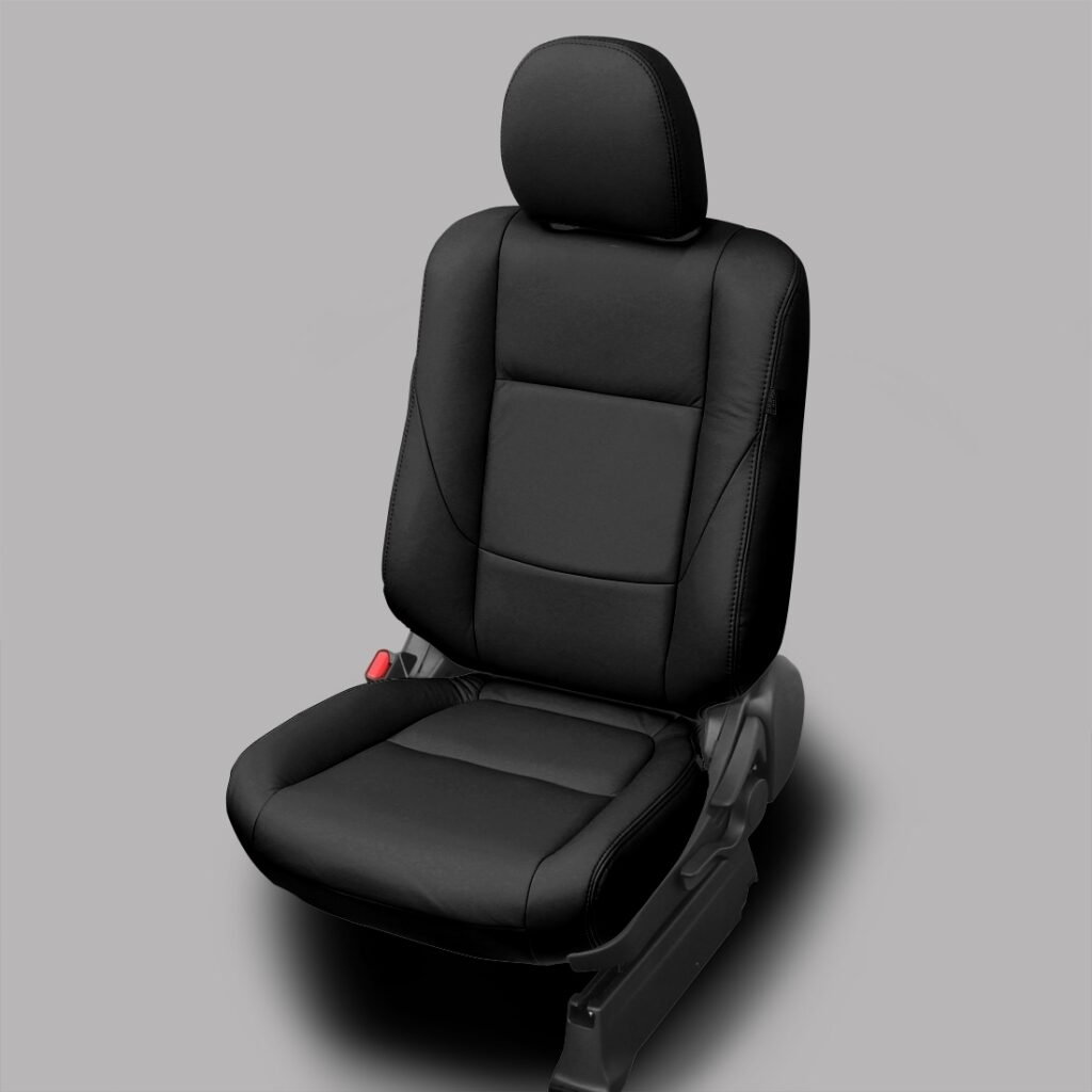 Black Mitsubishi Outlander Leather Seats