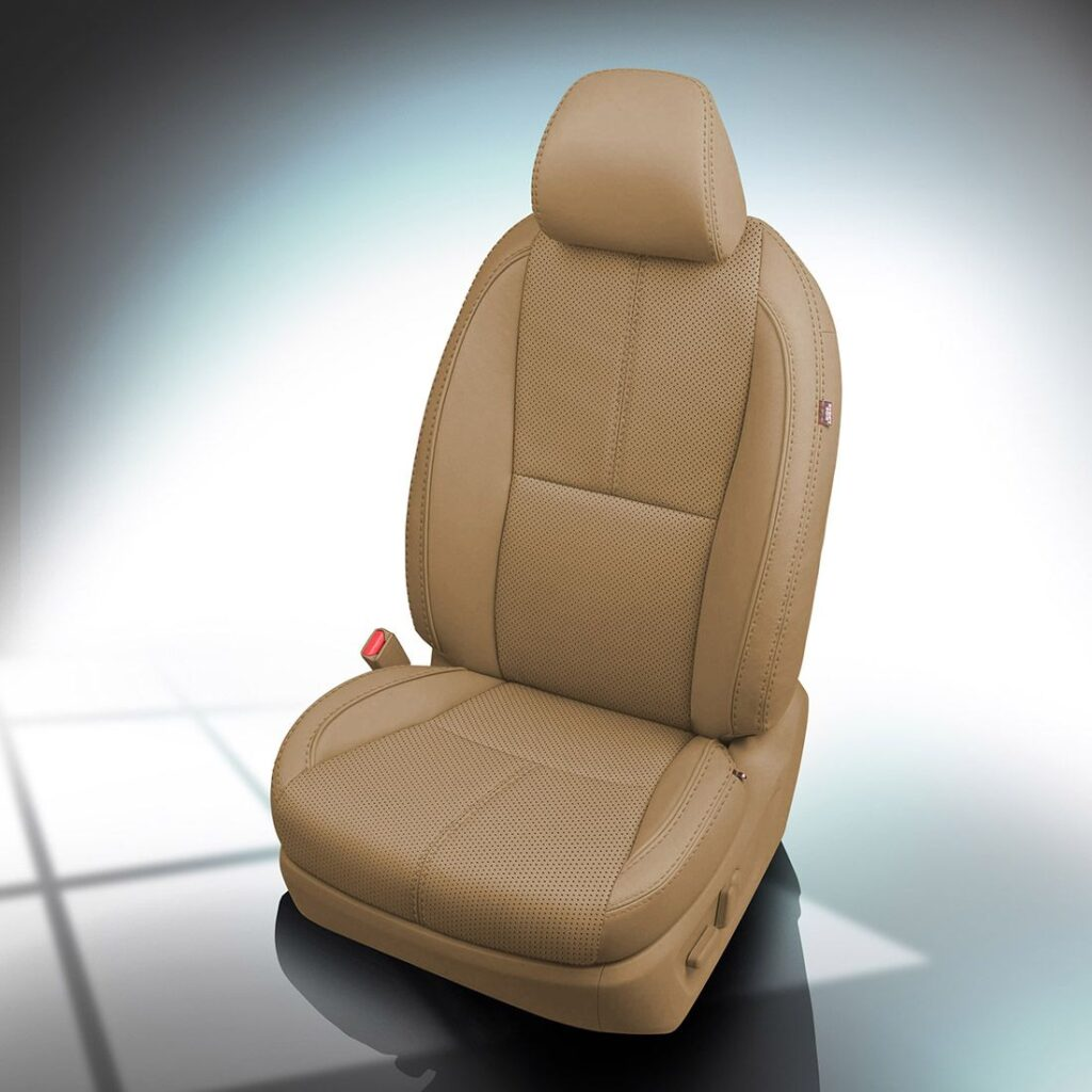 Beige Kia Sedona Leather Seats