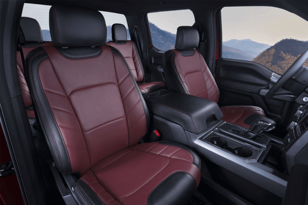 F-150 Red Leather Seats