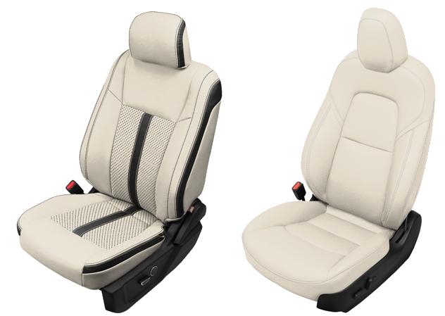 White Leather Seats
