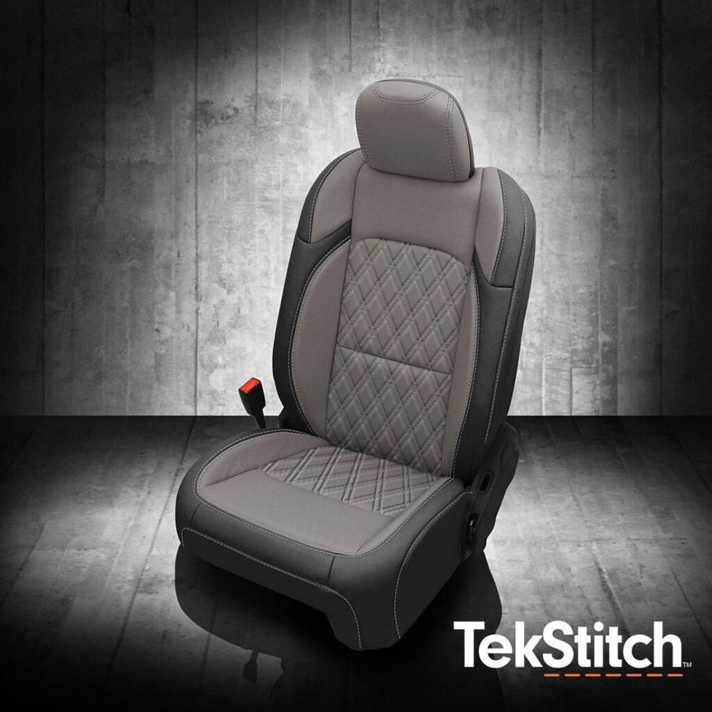 Jeep Wrangler Gray Leather Seats