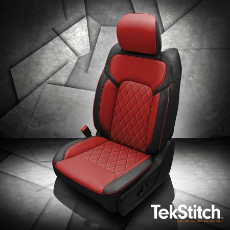 Ram 1500 Red Tekstitch Leather Seat