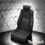 Honda Accord Black Tekstitch