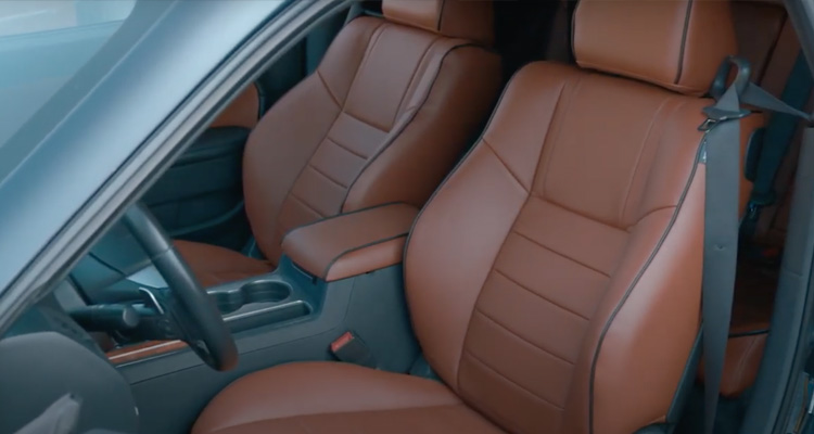 2021 Brown Leather Interior Challenger