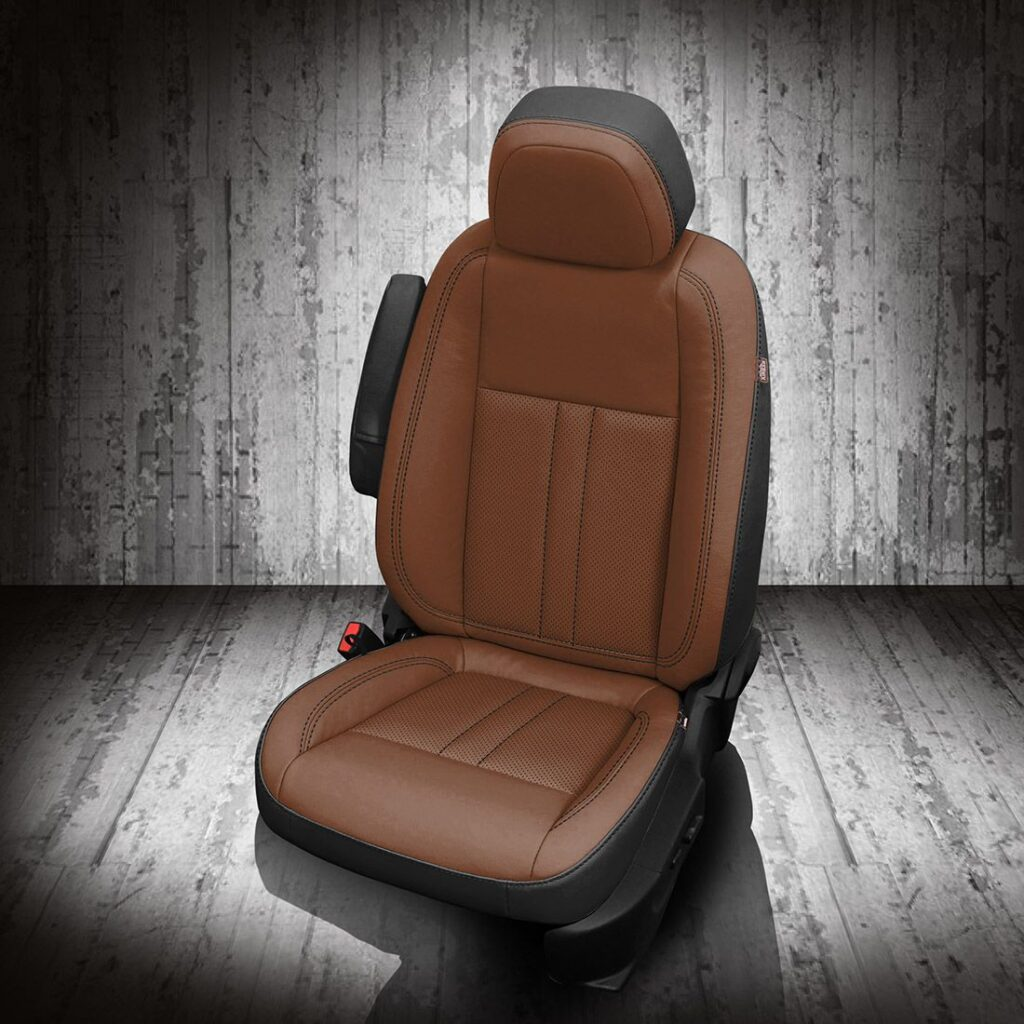 Brown Buick Encore Leather Seats