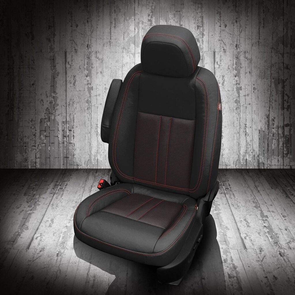 Buick Encore Leather Seats with Red Stitching