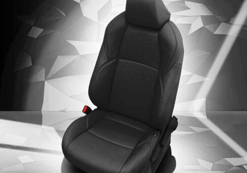 Black Toyota C-HR Leather Seats
