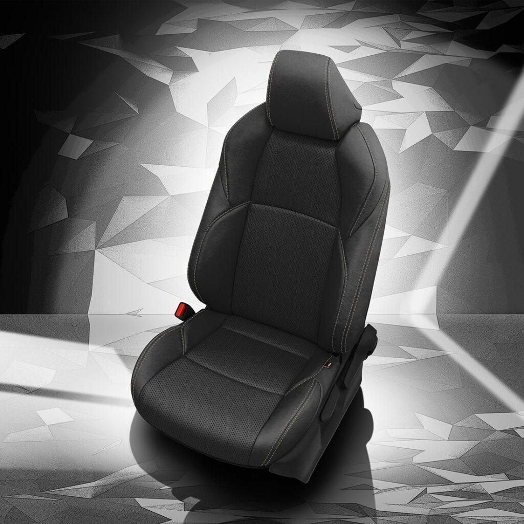 Black Toyota Venza Leather Seats