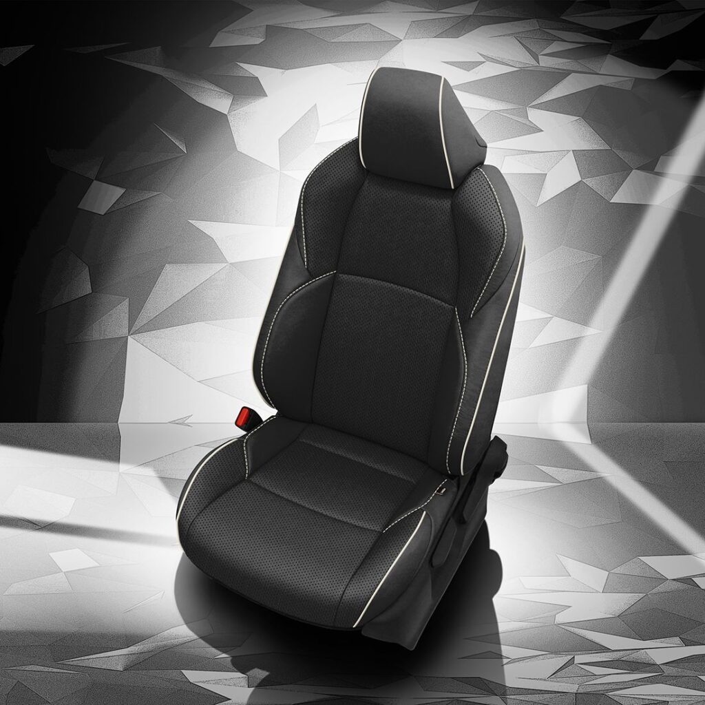 Toyota Venza Leather Seats With White Stitching