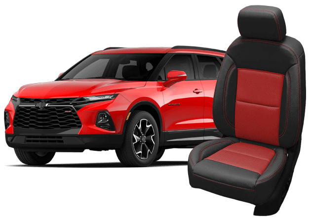chevrolet blazer leather seats
