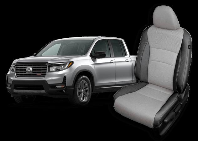 Honda Ridgeline leather seats